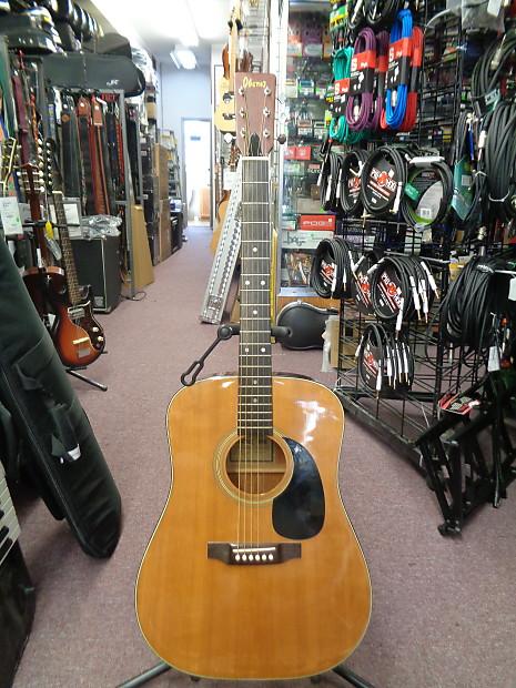 3db7fee191b Used Ibanez Vintage 627 Solid-Top Acoustic Guitar Made In   Reverb