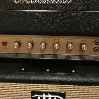 Marshall Marshall JTM45 reissue amp head and 80s Marshall with 4 25w Celestion Greenbacks