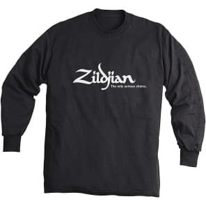 Zildjian Long Sleeve Logo T-Shirt - Extra Large
