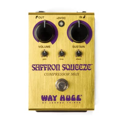 Way Huge WHE103 Saffron Squeeze Compressor Guitar Effect Pedal - New