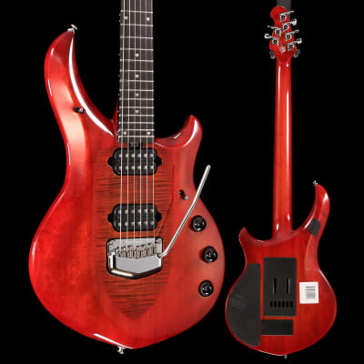 Ernie Ball Music Man John Petrucci Majesty, Red Sunrise 732 7lbs 3.4oz for sale