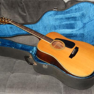 MADE IN JAPAN 1985 - MORRIS TF801 - SIMPLY WONDERFUL MARTIN D45 STYLE ACOUSTIC GUITAR