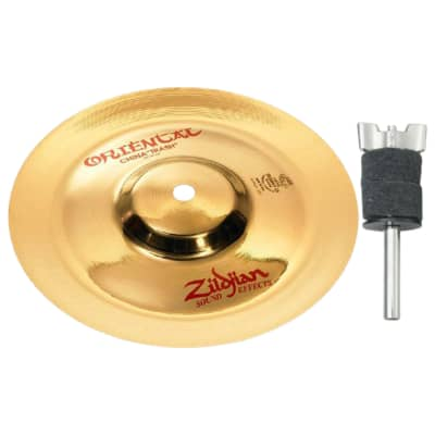 "Zildjian FX A0610 10"" Oriental China ""Trash"" Cymbal Bundle"