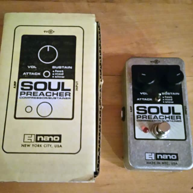 Electro-Harmonix Soul Preacher Nano image