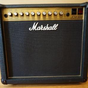 Marshall JCM 900 Model 4101 100-Watt Hi Gain Dual Reverb 1x12 Combo