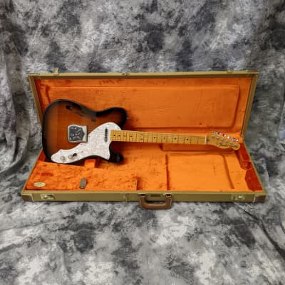 Fender American Vintage '69 Telecaster Thinline 2012 2-Color Sunburst for sale