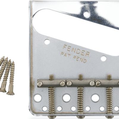 Fender 099-7210-000 Road Worn Telecaster Bridge Assembly
