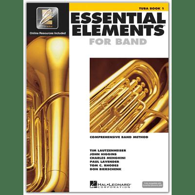 Essential Elements Book 1 - Tuba <HL00862580> Hal Leonard [ProfRev]