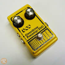 DOD Overdrive Preamp 250 1980s Yellow image