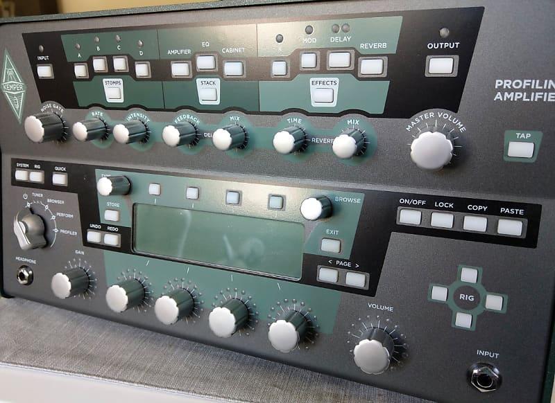 Kemper Profiler PowerHead 600-Watt Amp Head & Bag | Reverb