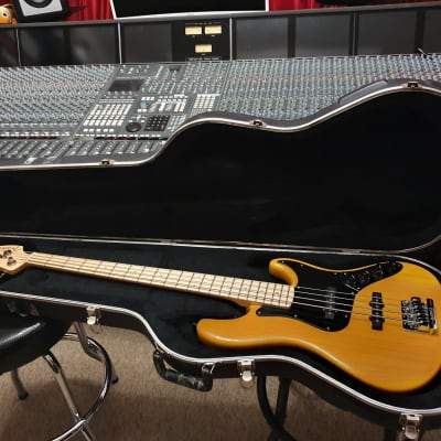 Fender USA American Deluxe Jazz Bass Custom Babicz Upgrade OHSC for sale