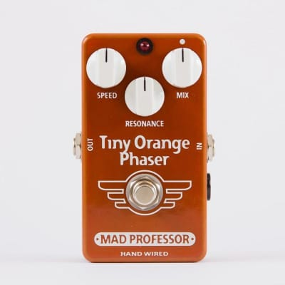 Mad Professor Tiny Orange Phaser Hand Wired Guitar Effects Pedal. Made in Finland for sale