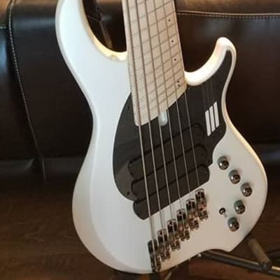 Dingwall NG-3  6-string bass 2019 Ducati White for sale