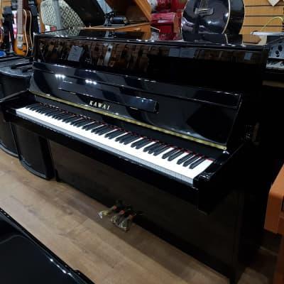 New Kawai K-15e Upright Piano Black SP17815 - Sherwood Phoenix Pianos