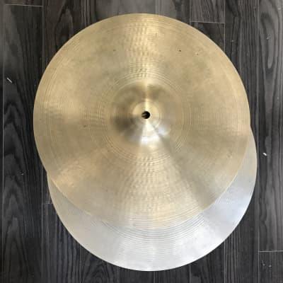 "A. Zildjian 15"" '70s Stamp New Beat Hi-Hat Cymbals (Pair)"
