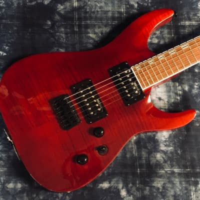 ESP LTD H200 FM See Thru Red - Authorized Dealer for sale