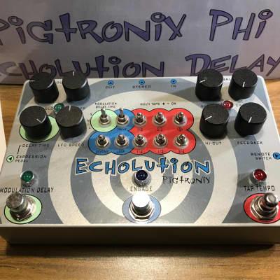 Used Original Pigtronix Echolution Phi Delay