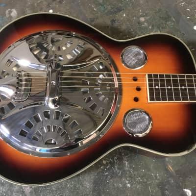 Cort CR-10SN Square Neck Dobro Guitar + Gig Bag , Strap and Stevens Slide Bar for sale