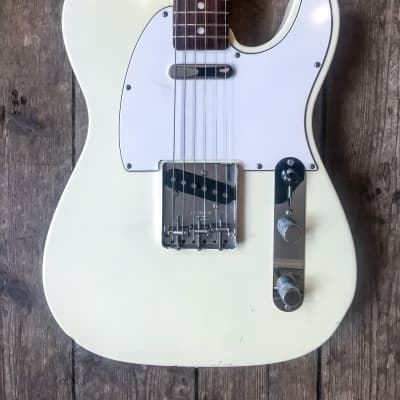 2005 Fender Custom Shop White Telecaster '67 Reissue with hard shell case for sale