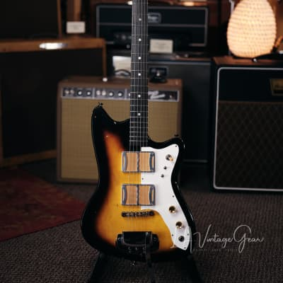 Ronin / Izzy Lugo Built  Mod Shop Electric Guitar - Small Body Sunburst