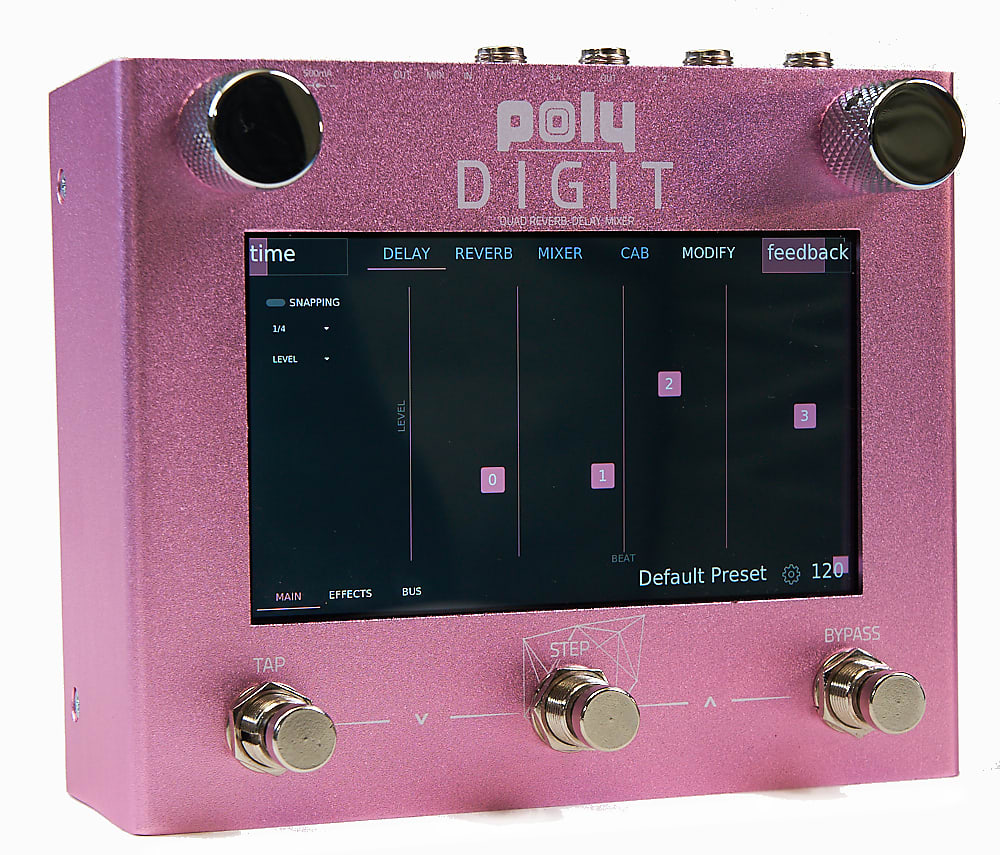 Poly Digit - Quad Delay, Reverb, Mixer, Cab Sim.
