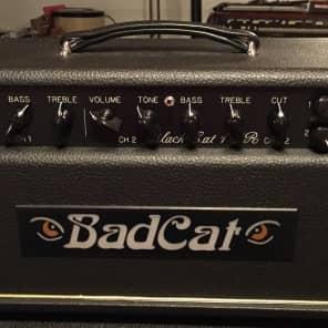 Bad Cat Black Cat 15R 15-Watt Guitar Amp Head with Reverb
