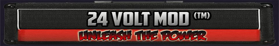 24 Volt Mod™ Guitar Parts & More