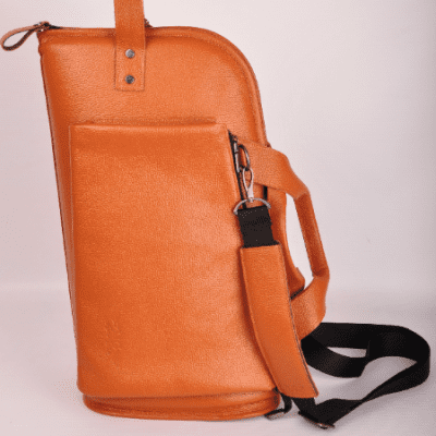MG Leather Work Flugelhorn Leather Singl GIG BAG very comfortable and stylish