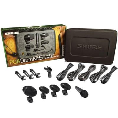 Shure PGADRUMKIT5 Drum Microphone Kit