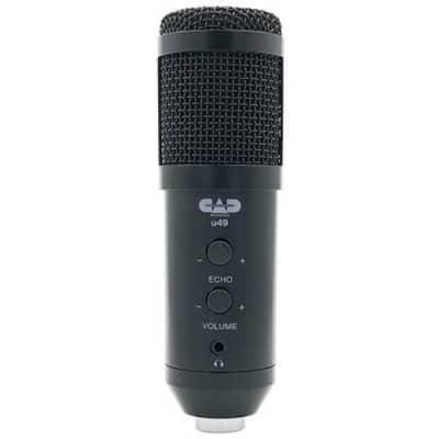 CAD U49 Side Address USB Studio or Podcast Microphone