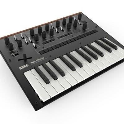 KORG MONOLOGUE * BLACK New Analog Synthesizer Keyboard midi VINTAGE SYNTH DEALER