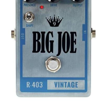 Big Joe Stomp Box Company R-403 Vintage 9V - 18V Overdrive Pedal Made in USA