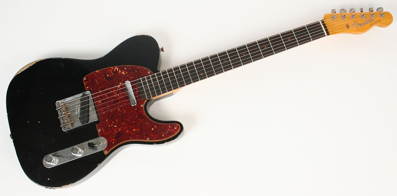 Fender Custom Shop 1961 Relic Telecaster New Black Authorized Dealer Sale On Texas Special Pickups Wiring