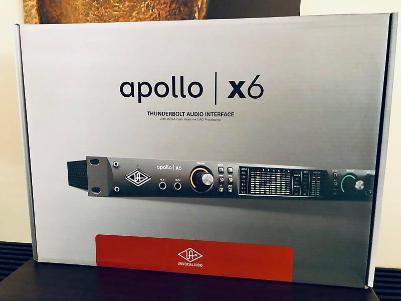 Universal Audio Apollo x6 16x22 TB3 Audio Interface with Ultimate 7 Plugin  Bundle