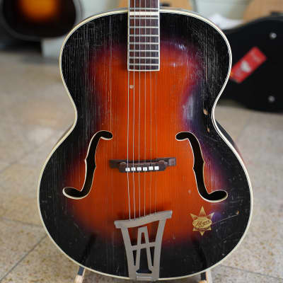 1950s Arnold Hoyer Meister-Klasse archtop acoustic guitar - made in Germany - super rare! for sale