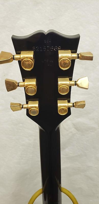 gibson lucille 1987 black bronco bob 39 s gear emporium reverb. Black Bedroom Furniture Sets. Home Design Ideas