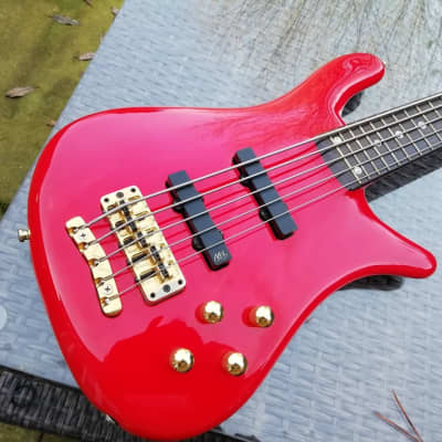 Warwick Streamer Stage II (2)  - 5 String  Bass Guitar - Early 1990s for sale