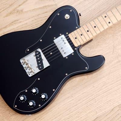 2015 Fender Telecaster Custom '72 Vintage Reissue Guitar TC72 Black Japan MIJ for sale