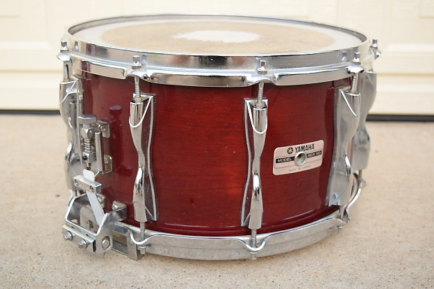 yamaha recording custom 14x8 snare drum excellent used snare reverb. Black Bedroom Furniture Sets. Home Design Ideas