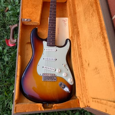 Fender American Vintage '59 Stratocaster 2014 3-Tone Sunburst