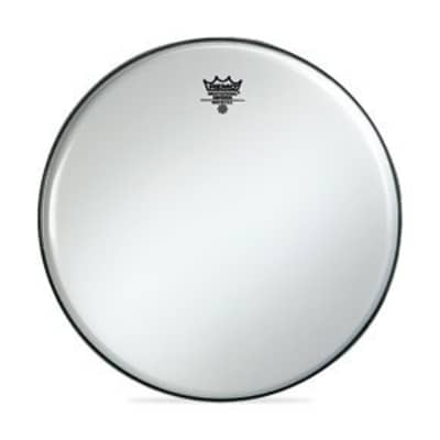 "Remo 13"" Smooth White Emperor Batter Crimplock Drumhead"