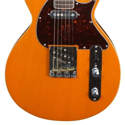 Revelation TTX-DB in Transparent Orange Electric Guitar for sale