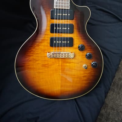 Berumen Deluxe Carved Top  Burst for sale