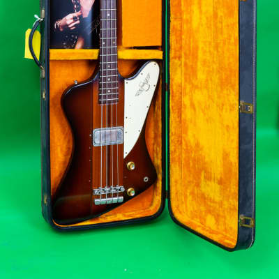 Gibson Thunderbird 1965 Sunburst Johnny Winter collection for sale