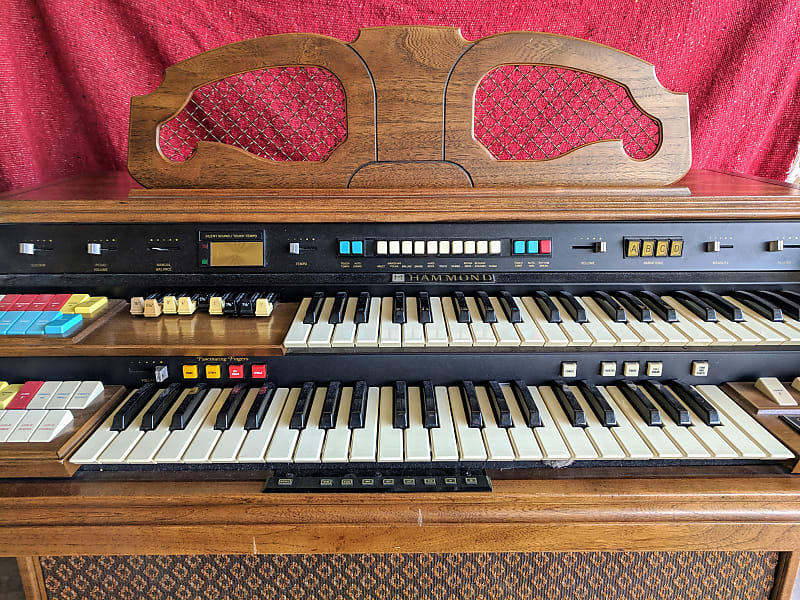 Hammond Organ Composer Series Model 146   Echo Park Guitar   Reverb