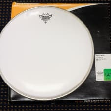 """Remo 14"""" Falams II Smooth White Marching Snare Batter Head- NEW KS-0214-00 image"""