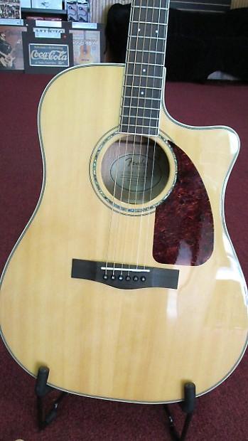 fender cd220sce acoustic electric guitar w fender hard case reverb. Black Bedroom Furniture Sets. Home Design Ideas