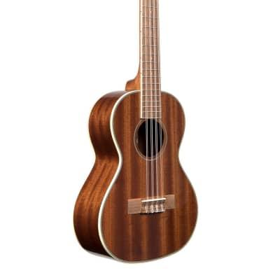 Kala   Gloss Mahogany Tenor 8 String, Ka 8 for sale