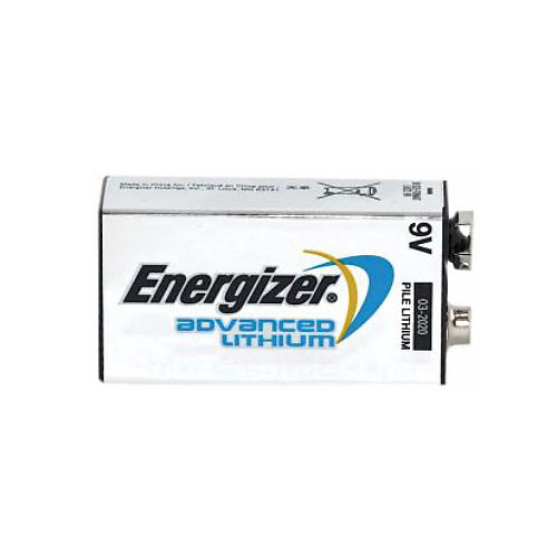Energizer LA522 Advanced Lithium 9 Volt Battery