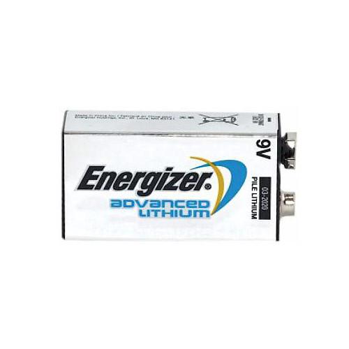Energizer LA522 Advanced Lithium 9 Volt Battery | Reverb